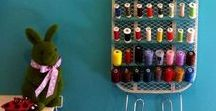 Serger Thread Storage Ideas / Serger Thread takes up lots of space.  Here we pin storage ideas!