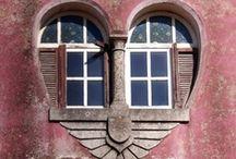 Kapu, ablak