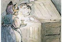 Beatrix Potter <3 / I grew up with Beatrix Potter's tales...