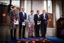 Royal Award for Modern Painting 2013 / On Friday 4 October His Majesty the King presented the Royal Award for Modern Painting 2013 at the Royal Palace Amsterdam to Wieteke Heldens, Marijn van Kreij, Philipp Kremer and Jorn van Leeuwen. These four young artists received this prize, a sum of 6500 euros. After the award-ceremony the King opened the exhibition of the winning works and a selection of other paintings submitted.