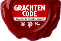 """#grachtencode / Vormgeving 'Kraak jij de #grachtencode?"""", interactief Twitterspel in het kader van spel 400-jarig bestaan van de Amsterdamse grachtengordel (september-oktober 2013)"""