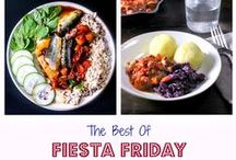 Fiesta Friday Friends / Amazing recipes from amazing Fiesta Friday friends, a fun and friendly group of food lovers and recipe developers who gather every Friday to celebrate the good life with a virtual potluck ***** NEW RULE: You can pin twice daily for up to 3 pins each time (that means a total of 6 pins daily) ***** Send me (Angie) a message at angie_at_fiestafriday_dot_net if you'd like to join the board.