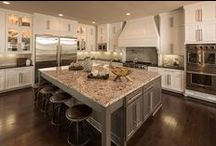 Heart of the Home (Kitchen) / The one place where food, family, and friends mix: the kitchen.