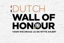 Dutch Wall of Honour / In opdracht van de Stichting Anjerveteranendag hebben we het concept bedacht voor de digitale 'Dutch Wall of Honour'. Ook het ontwerp van beeldmerk en website is van de hand van Likeable Design. Tijdens de 10de Veteranendag op zaterdag 28 juni 2014 is het doorlopende project officieel gelanceerd.