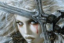 """"""" Luis Royo art """" / Please, only pins related to Luis Royo and nothing else.Try not to pin duplicates. I'd like to thank my followers for their contribution to this board.  Feel free to invite your friends through the invite option. Happy pinning."""