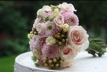 Bridal Bouquets / Bridal bouquets made with high quality Meijer's roses.