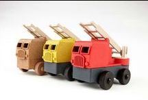 EcoTruck Fire Truck / Luke's Toy Factory's first toy on the market, our Eco-Friendly, Made in the USA, FIretruck!