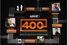 Club Elite Sessions 400 / Artwork voor de 400ste aflevering van dj M.I.K.E.'s Club Elite Sessions op Digitally Imported, donderdag 12 maart 2015 (22 uur)