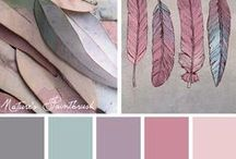 Design :: Colour Palettes / Gorgeous colour palettes that you can use in your next project - from interior design, web design, logo design, branding design and more!