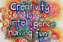 Creativity: ideas to Expand It / Here are some ideas that can help your capacity to become more creative!