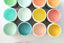 Patterns & colours