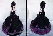 Dolls, Dress cakes / by Galyna's edible art