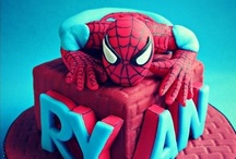 Super hero cakes, cupcakes and cookies / by Galyna's edible art