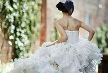 Love those white wedding dresses :) !!