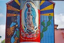 Art, History & Culture / San Antonio is steeped in deep Latino roots as well as a fusion of other cultures that have shaped the city's diversity. Cultural treasures abound, from neighborhood nooks lined with galleries to the River Walk lined with hotels, restaurants, shops and historic sites.