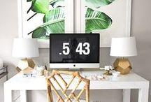 ✿ Workspace ✿ / #office #bureaux #deco #workspace