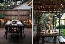 ✿ Outdoors spaces ✿ / #outdoors #spaces #extérieurs