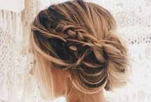 ✿ Hairstyles ✿ / #hair #hairstyle #coiffures
