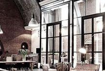 industrial-style windows / Portes & Ouvertures métalliques