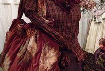 Moda: czerwień i bordo/Fashion: red & burgundy