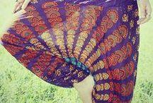 Moda: spodnie i szarawary/Fashion: pants & harem pants