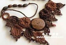 Szydełkiem: biżuteria / Crochet: jewellery