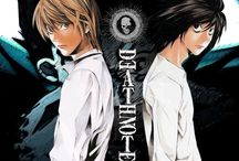 "Death Note | デスノート / | Is a Japanese manga series written by Tsugumi Ohba and illustrated by Takeshi Obata | Manga Original Run Volumes: 2003 - 2006 | Novel ""Death Note Another Note: The Los Angeles BB Murder Cases"": 2006 