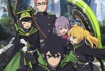 Owari no Seraph | 終わりのセラフ / | Is a Japanese dark fantasy manga series written by Takaya Kagami and illustrated by Yamato Yamamoto with storyboards by Daisuke Furuya | Manga Original Run Volumes: 2012 - ongoing | Anime Original Run: 2015 - ongoing |