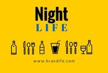 Night Life / Feeds on places, things and events for Fun & Flavours to encourage people to take time off with friends and family.