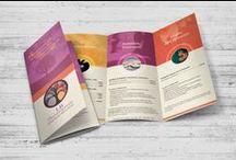 COMMUNICATION / Flyers, Plaquettes, Dépliants, Brochures, Affiches...