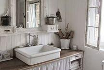 Shabby Chic: łazienka / Schabby Chic bathroom