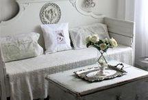 Shabby Chic: pokój dzienny / Living room