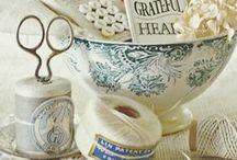 Stare przybory do szycia / Old sewing kit