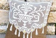Szydełkiem: poduszki / Crochet: pillows