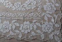 Szydełkiem: filet / Crochet: filet