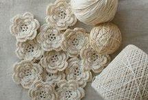 Szydełkiem: kwiaty / Crochet: flowers
