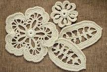 Szydełkiem: koronka irlandzka / Irish crochet