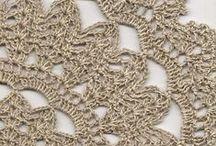 Szydełkiem: serwetki / Crochet: doilies
