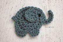Szydełkiem: zwierzęta / Crochet: animal motifs