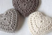 Szydełkiem: serca / Crochet: hearts