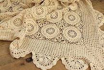 Szydełkiem: narzuty, kapy / Crochet: beadspreads, covers