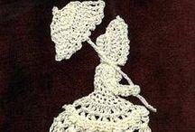 Szydełkiem: koronkowe damy / Crochet ladies