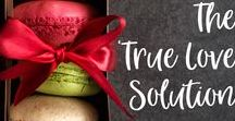 """The 'True Love' Solution / My novel """"The 'True Love' Solution""""."""