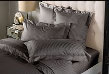 Millennia Collection / Create a contemporary, luxurious space that feels indulgent and personal. Millennia captures the timeless elegance of stripes in a subtle woven pattern of mate and sateen threads. Crafted from 1200 thread count superior long-staple cotton, the hotel-weight luxury and superb feel and finish make Millennia a perennial favourite.