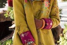 Moda: płaszcze i żakiety / Fashion: coats and jackets