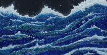 Océan 130 x 80 cm (mosaïque)