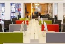 Cool Office Spaces & Organization Tips