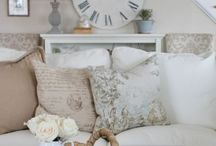 Room ideas / A collection of ideas and inspiration for a French inspired room.