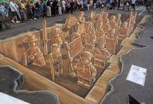 """Street Art / Una delle correnti d'arte più estrosa del momento: """"Street Art"""" , """"Urban Art"""" e """"Graffiti"""""""