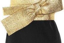 NEGRO Y DORADO / BLACK  Y GOLD